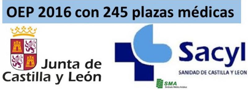 Aprobada OEP en Castilla y León en la que hay 245 plazas para médicos.