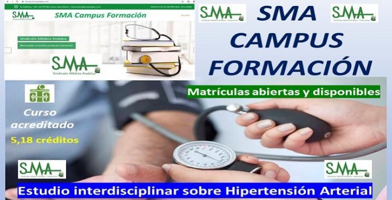 SMA CAMPUS FORMACIÓN. 2ª convocatoria del curso acreditado: Estudio Interdisciplinar sobre Hipertensión Arterial.
