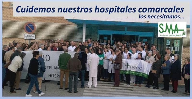 La realidad de los hospitales comarcales en Andalucía. A propósito de un caso.