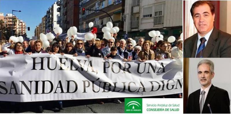 El gerente del SAS y la plataforma sanitaria de Huelva se reunirán este viernes.