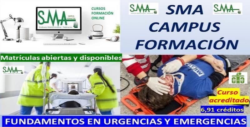 SMA Campus Formación. Nuevo curso: FUNDAMENTOS EN URGENCIAS Y EMERGENCIAS.