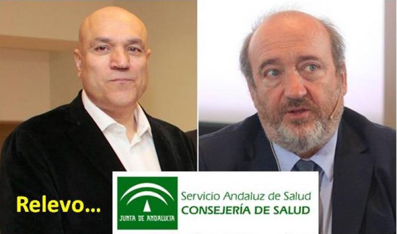 Dimiten el viceconsejero andaluz de Salud, Martín Blanco y el gerente del SAS, José Manuel Aranda.