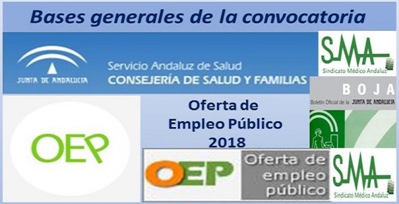 Publicadas en el Boja las bases generales de las convocatorias que han de regir los procesos selectivos de la OEP 2018.