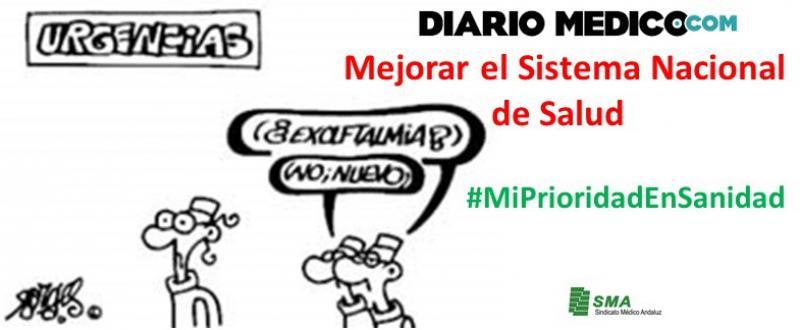 #MiPrioridadEnSanidad. Colaboraciones en Diario Médico para mejorar el Sistema Nacional de Salud.