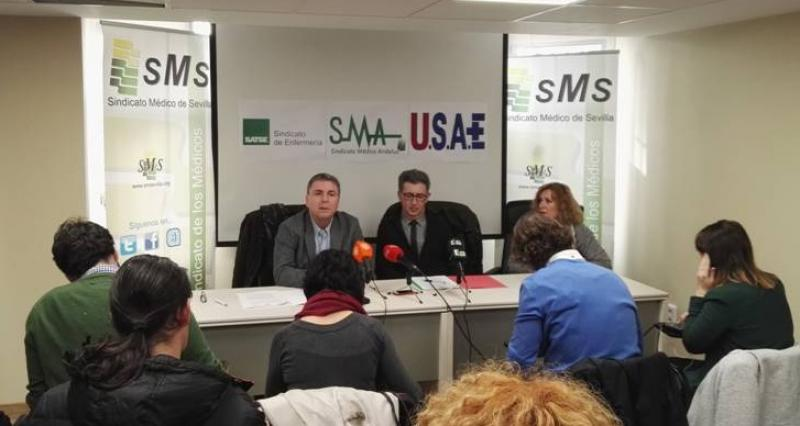 Los sindicatos profesionales contra la discriminación del colectivo sanitario en la justificación de las 2,5 horas.