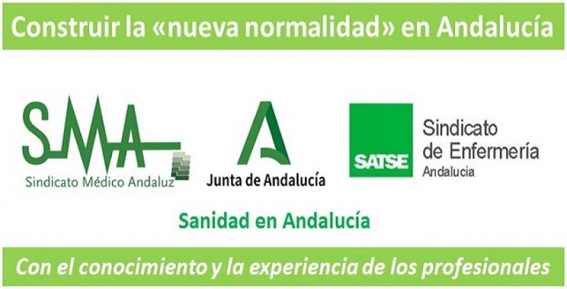 SMA-F y SATSE reclaman que se cuente con los profesionales sanitarios para construir la «nueva normalidad» en Andalucía.