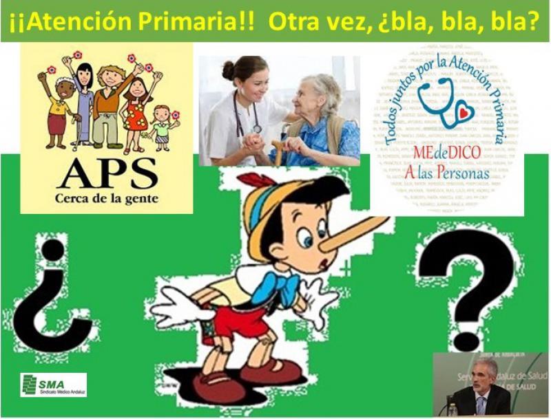 La Junta de Andalucía dice que se compromete a fortalecer la Atención Primaria. ¿Será verdad esta vez?.