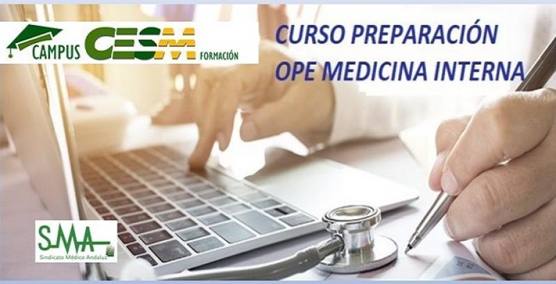 Curso de preparación de la OPE de Medicina Interna 2020 para afiliados CESM.
