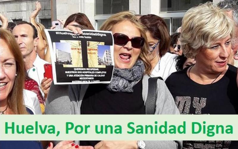 """""""La Junta nos ataca personalmente porque no puede rebatir los datos sobre la Sanidad en Huelva"""""""