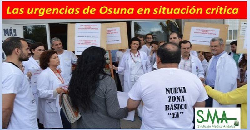 Los médicos de urgencias de Osuna amenazan con dejar su trabajo.
