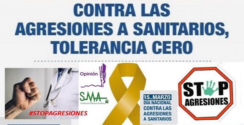 El SMA ante las agresiones en sanidad.