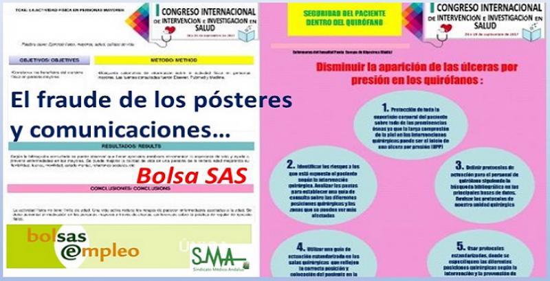 Plagios, errores y falta de rigor en los pósteres «científicos» que inflan las bolsas del SAS.