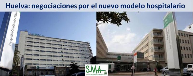 Arrancan las negociaciones para el nuevo modelo hospitalario de Huelva.