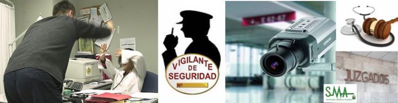 Cámaras y vigilantes de seguridad en los centros de salud para frenar las agresiones de los pacientes.