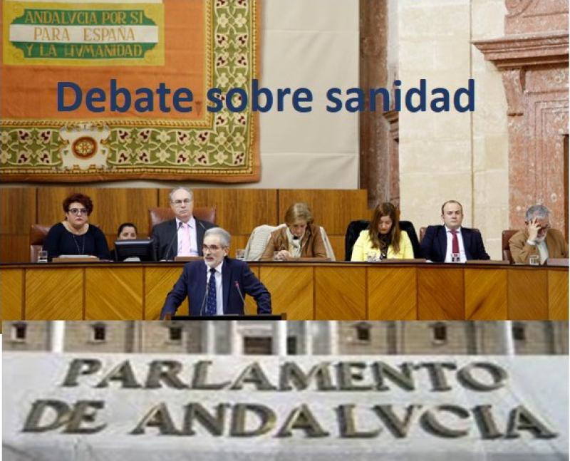 El parlamento andaluz desea un pacto por la sanidad, aumentar la inversión y más personal en el SAS.