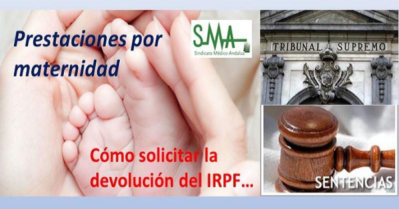 El Supremo establece que la prestación por maternidad está exenta de IRPF.