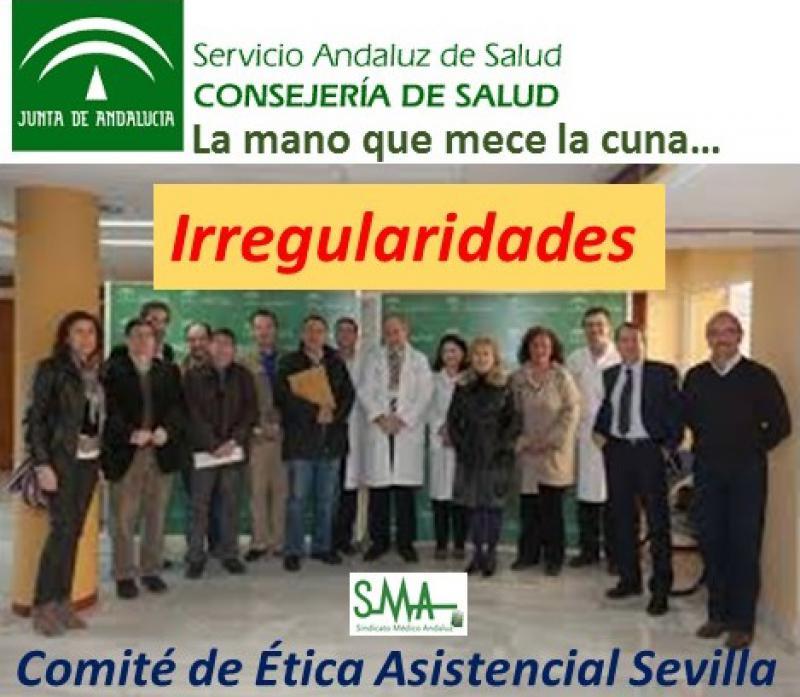 El Sindicato Médico de Sevilla denuncia