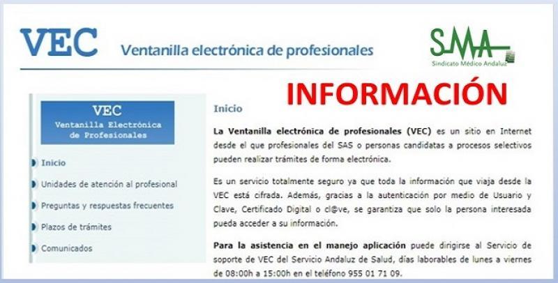 VEC: Cómo adjuntar documentación a solicitudes ya presentadas. Información para candidatos opositores.