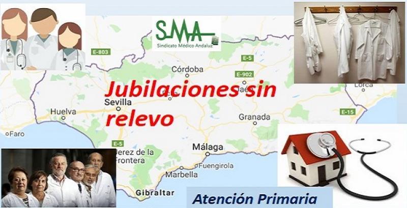 El 38 por ciento de los médicos de familia se jubilarán en Andalucía sin relevo.