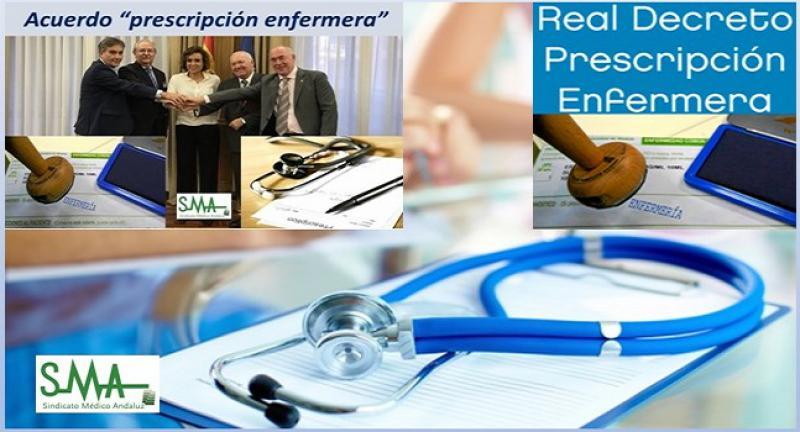 """Aprobado el Real Decreto de """"prescripción enfermera""""."""