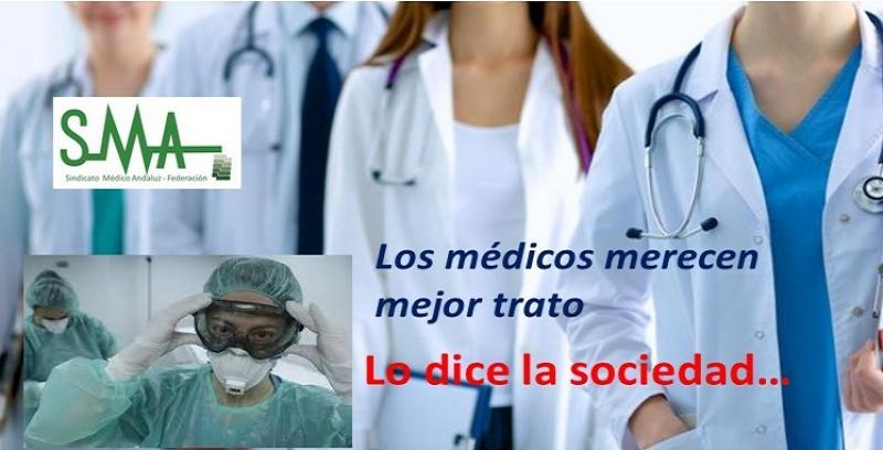 Los médicos merecen mejor trato.