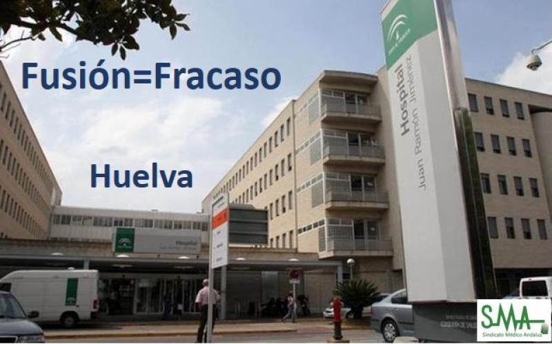 La Junta  y los sindicatos sientan las bases para tumbar la fusión hospitalaria de Huelva.