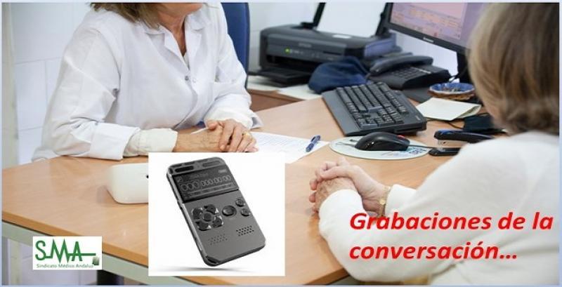 El paciente puede grabar la conversación con su médico.
