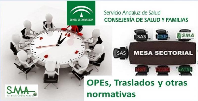 Mesa sectorial: OPE, Traslados y otras normativas