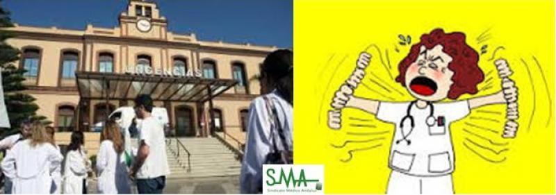 El Sindicato Médico estudia tomar acciones legales ante los riesgos para la salud de facultativos en el H. Civil de Málaga.
