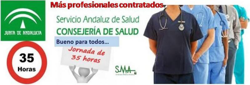 Andalucía aumentaría su plantilla en 218 médicos más, por la implantación de las 35 horas.