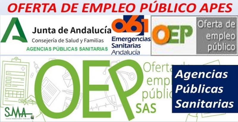 Aprobada la Oferta de Empleo Público 2021 para las Agencias Públicas Empresariales Sanitarias.