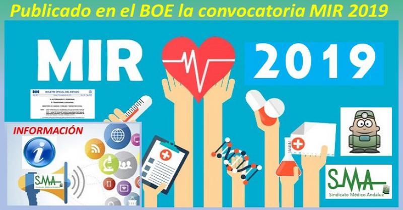El BOE publica la convocatoria oficial: toda la información sobre el MIR 2019.