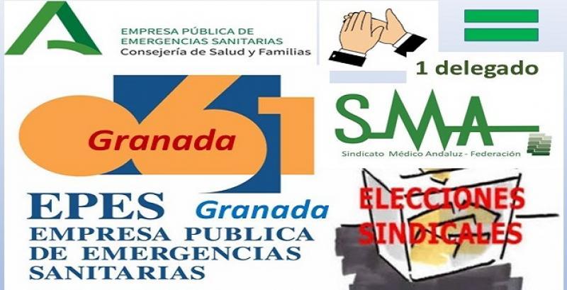 El Sindicato Médico Andaluz vuelve a crecer en EPES-061 Granada.