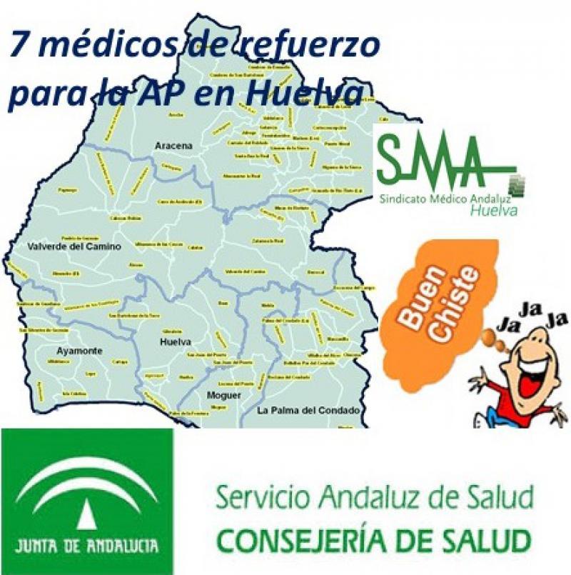 SMA Huelva critica que el plan de choque del SAS