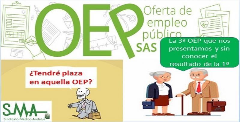 El SAS anuncia oposiciones con más de 10.000 plazas sin cerrar aún la convocatoria de 2013-2015.