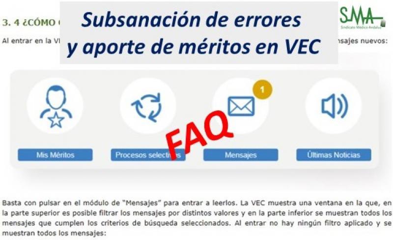 Preguntas y respuestas relativas al proceso de Subsanación de Solicitudes de entrega de méritos. OEP 2013-2015.