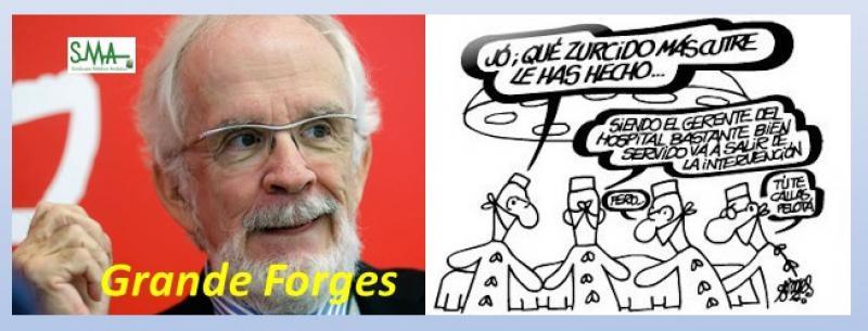 Nuestro pequeño homenaje a Forges.