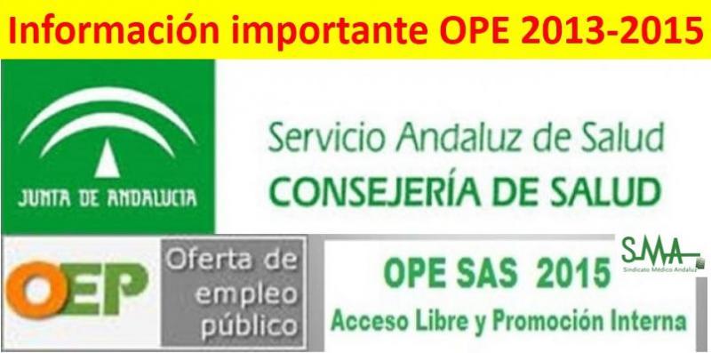OPE 2013-2015: Enviadas al Boja las resoluciones con las listas de personas opositoras que deben entregar documentación acreditativa.