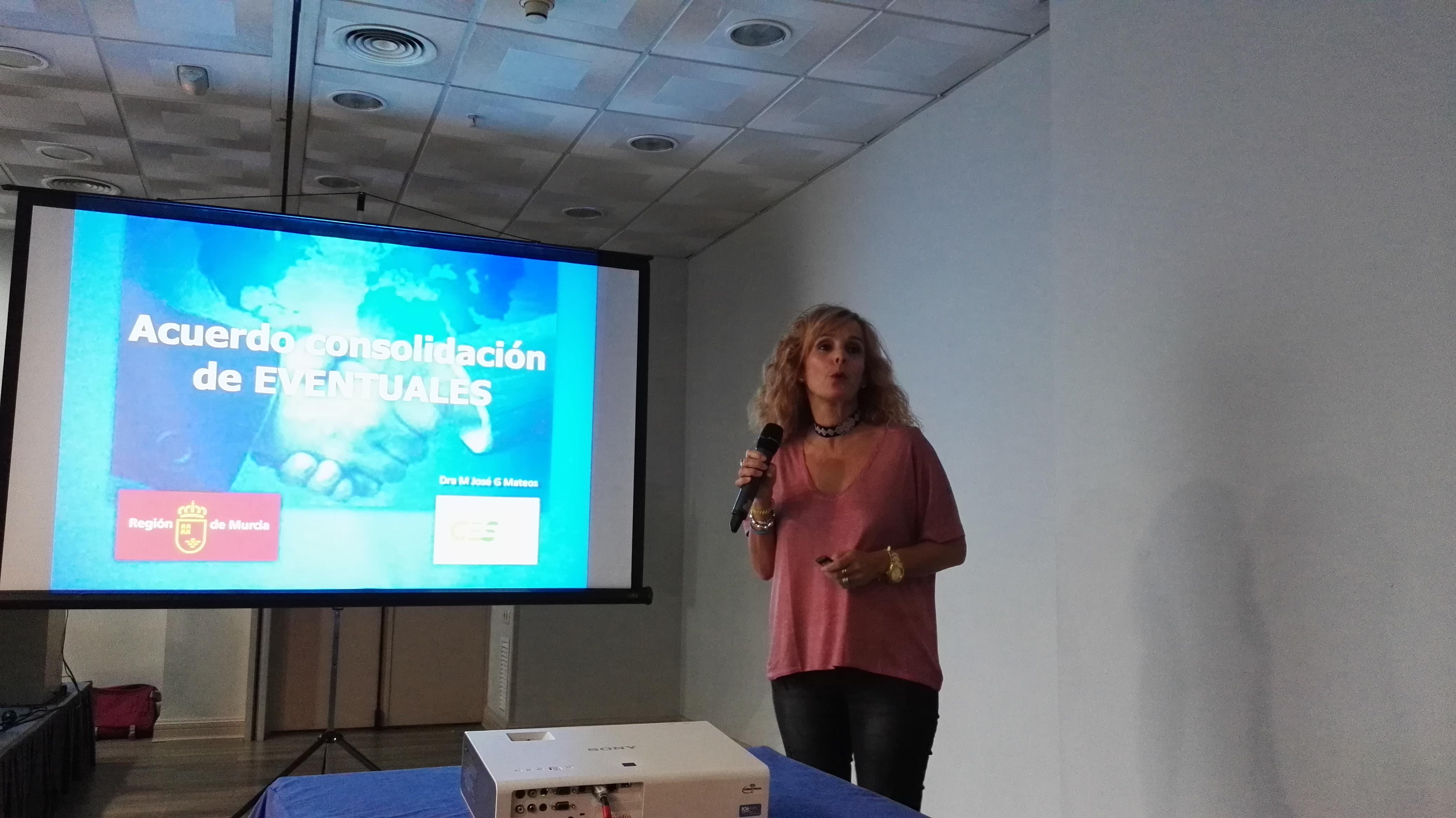 María José García, Secretaria Técnica de Atención Hospitalaria del Sindicato Médico de Murcia (CESM Murcia)