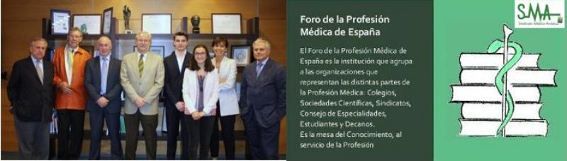La falta de médicos y condiciones del ejercicio, a debate en la Asamblea del Foro de la Profesión Médica.