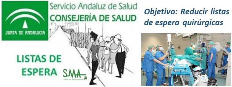 Andalucía planteará refuerzos para atajar las esperas quirúrgicas.