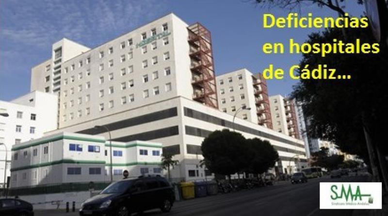 El Sindicato Médico pide un equipo directivo para cada hospital de la Bahía en Cádiz.