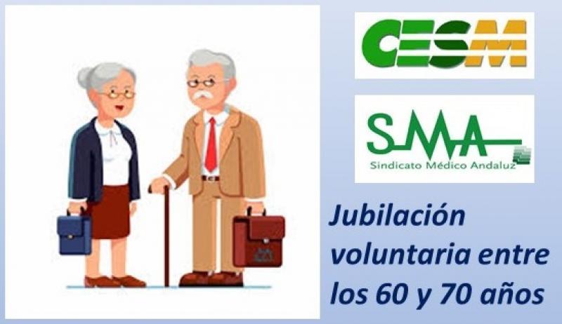 Queremos una jubilación flexible y voluntaria de médicos entre los 60 y los 70 años.