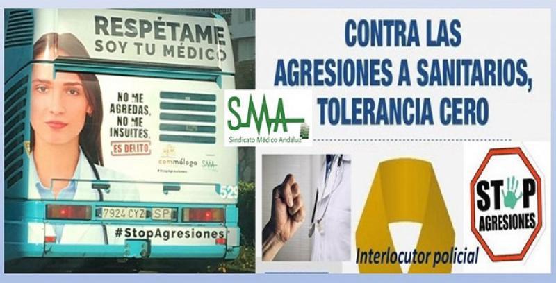 Cada día, son agredidos tres profesionales sanitarios en Andalucía.