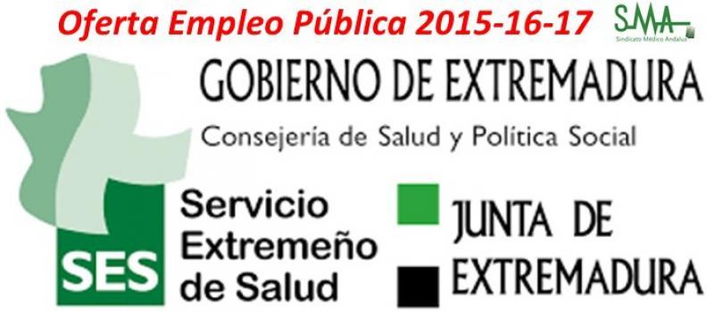 Publicado en el Diario Oficial de Extremadura la convocatoria de OPE para el Servicio Extremeño de Salud.