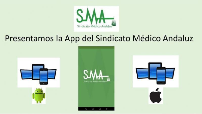 El Sindicato Médico Andaluz presenta su App para dispositivos móviles.