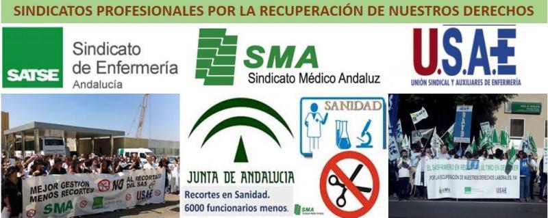 Los sindicatos profesionales sanitarios nos concentramos mañana 2 de junio, por la recuperación de los derechos.