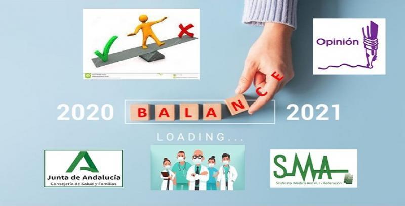 El Sindicato Médico Andaluz ante el nuevo año. Balance del 2020 y expectativas pendientes para el 2021.