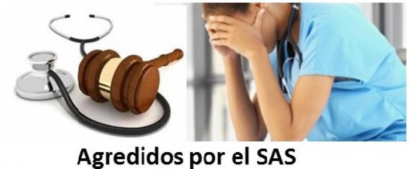 El SAS castiga en la nómina a los profesionales agredidos.