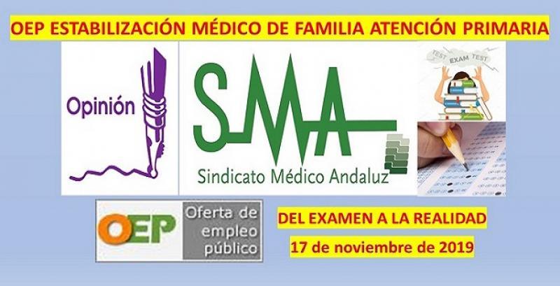 OEP de Estabilización de Médico/a de Familia de Atención Primaria: del examen a la realidad.